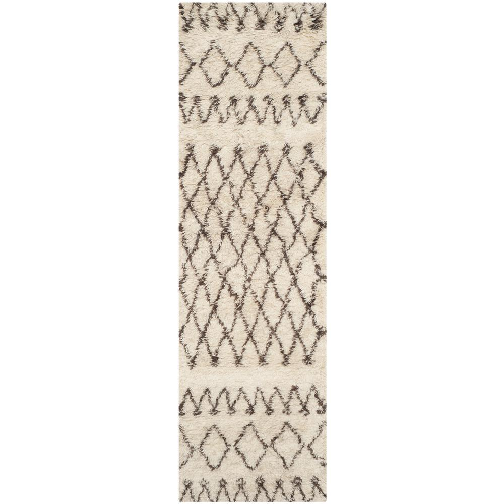 Safavieh Casablanca Ivory/Natural 2 ft. 3 in. x 12 ft. Ru...
