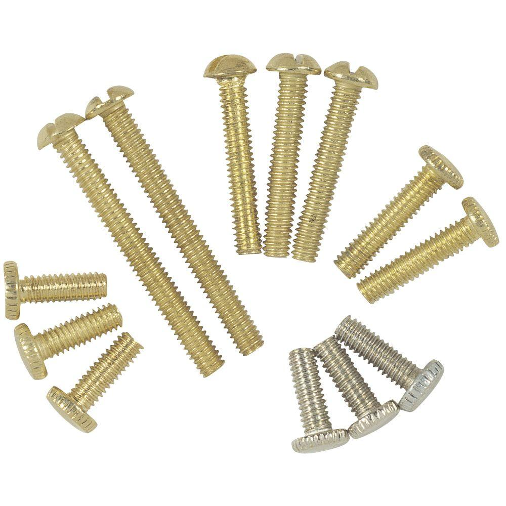 Assorted Fixture Screws (13-Piece)