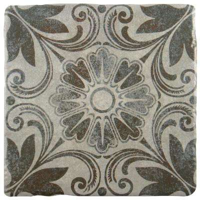Costa Cendra Decor Dahlia Encaustic 7-3/4 in. x 7-3/4 in. Ceramic Floor and Wall Tile (11.5 sq. ft. / case)