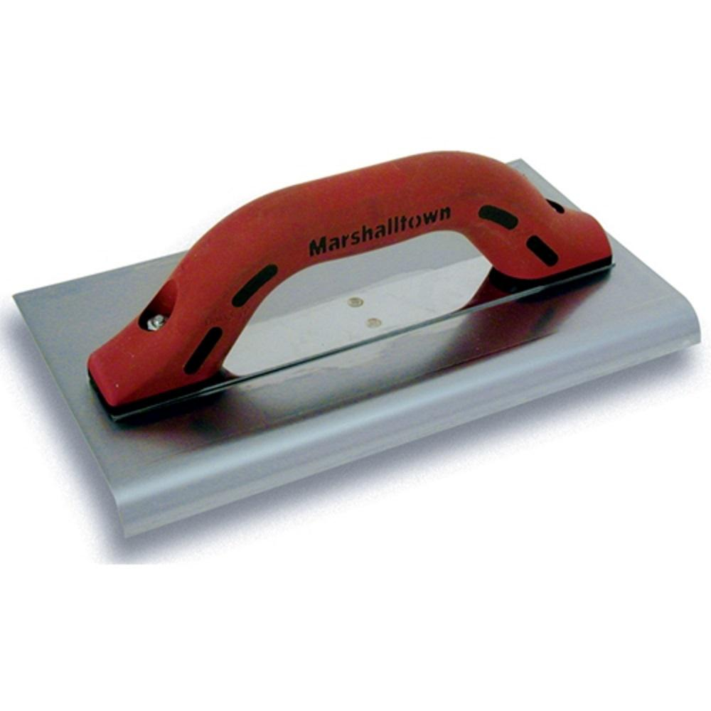 "10 in. x 6 in. Big ""I"" Stainless Steel Edger 1/2"