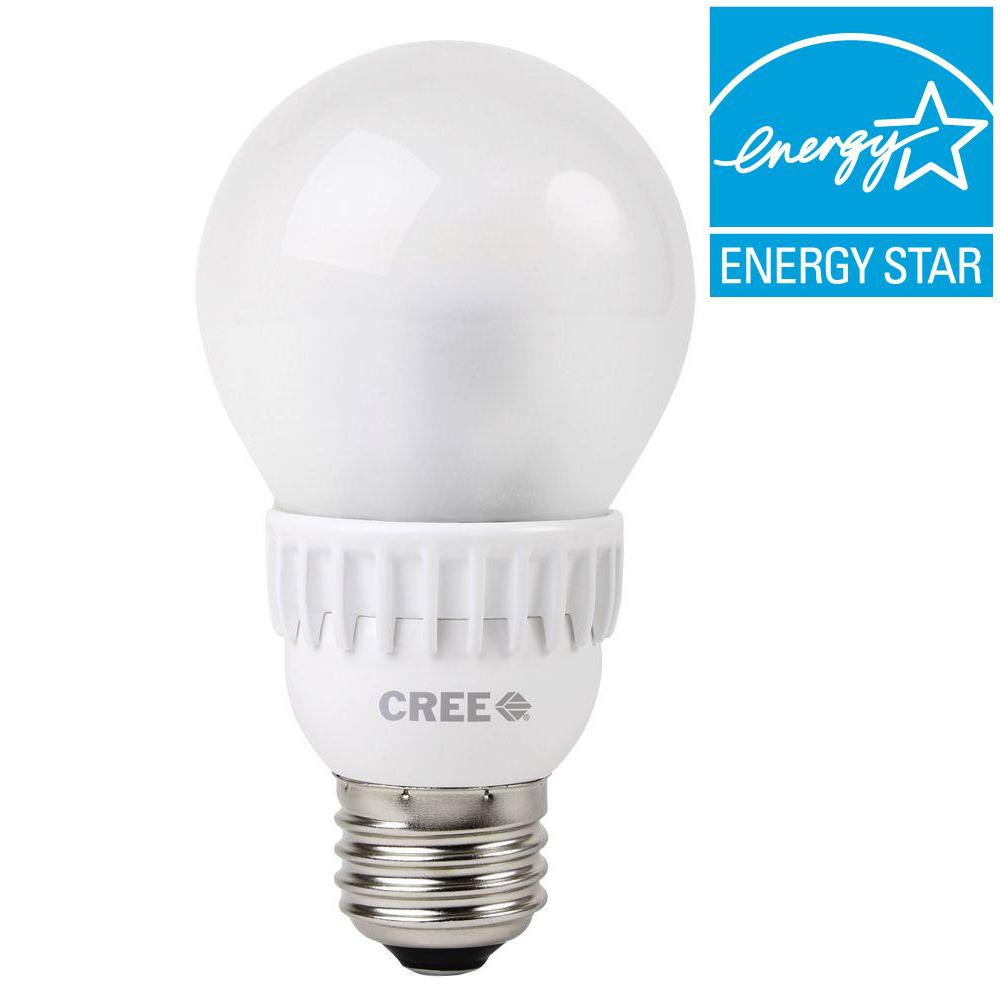 Cree 60W Equivalent Soft White (2700K) A19 Dimmable LED Light Bulb