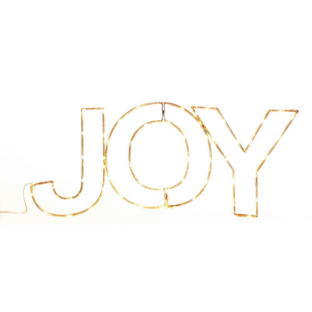 14 in. Merry Messages-Joy