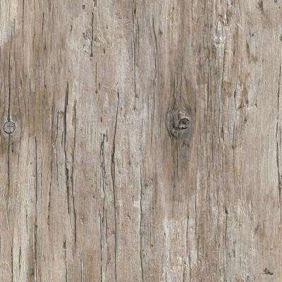 4 ft. x 8 ft. Laminate Sheet in Mill Antique Wood with Virtual Design SoftGrain Finish