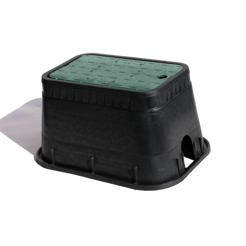 NDS 10 in. x 15 in. Standard Valve Box with Drop-in Cover