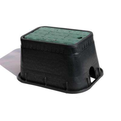 10 in. x 15 in. x 10 in. Polyolefin Valve Box with Cover