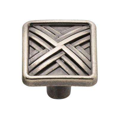 1.5 in. Antique Nickel Hard Cross Knob