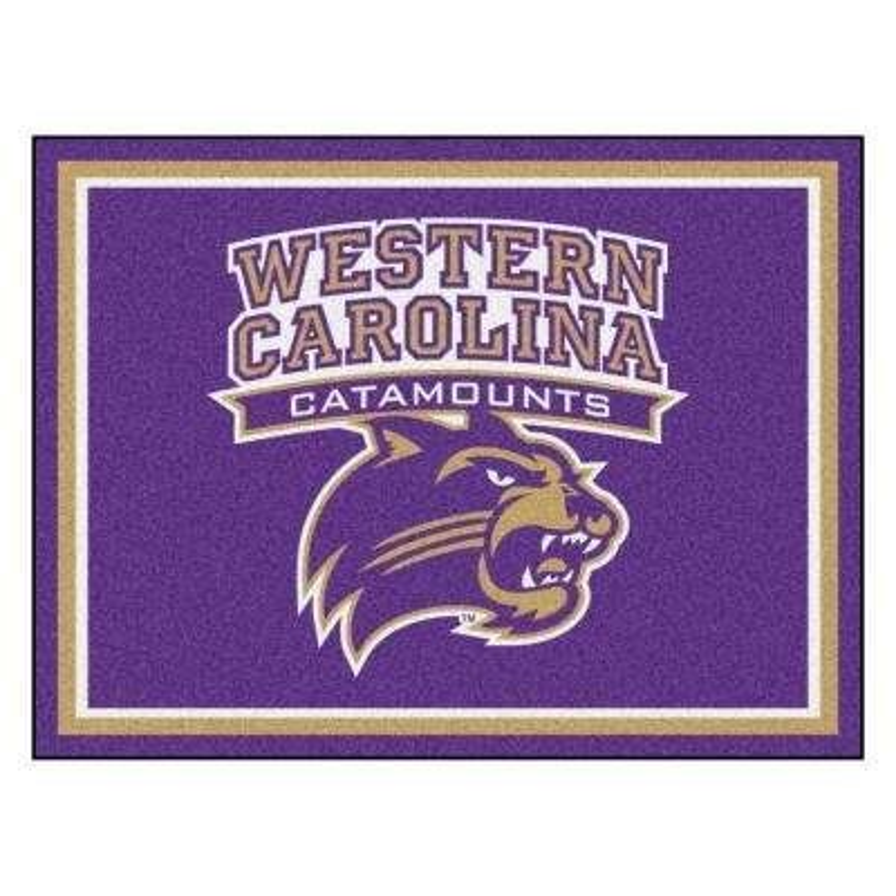 NCAA - Western Carolina University Purple 10 ft. x 8 ft. Indoor Rectangle Area Rug
