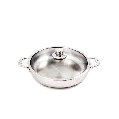 5.8 Qt. Premium Clad Chef's Pan with Lid