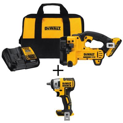 20-Volt MAX Lithium-Ion Cordless Threaded Rod Cutter with Bonus Impact Wrench