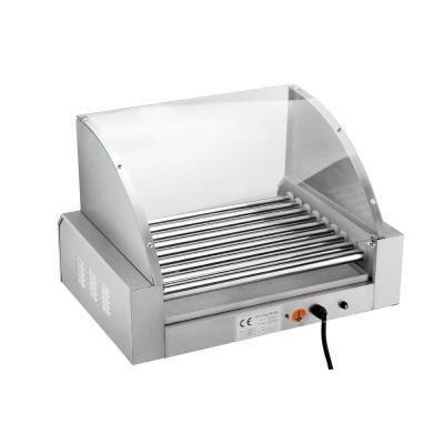 Great Northern-Commercial 24-Hot Dog 290 sq. in. Stainless Steel Indoor Grill