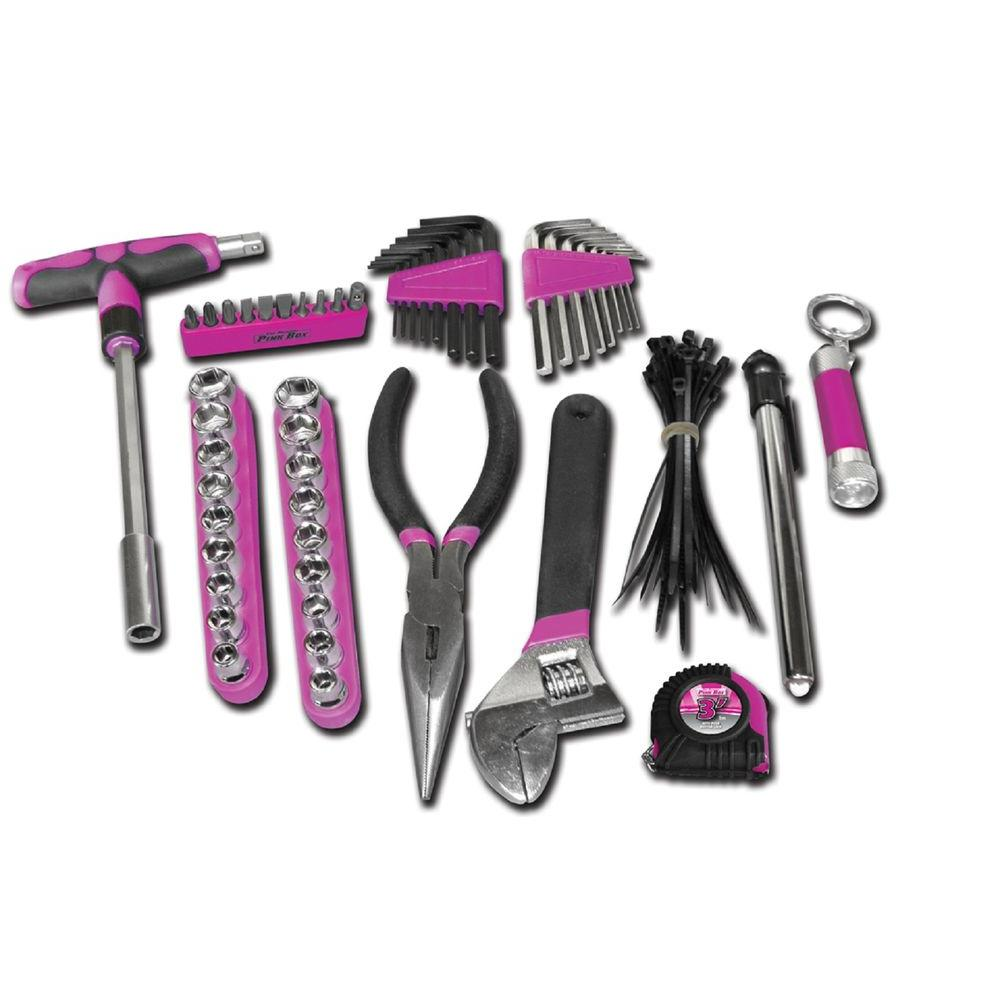 The Original Pink Box Tool Set (85-Piece) with Case in Pink