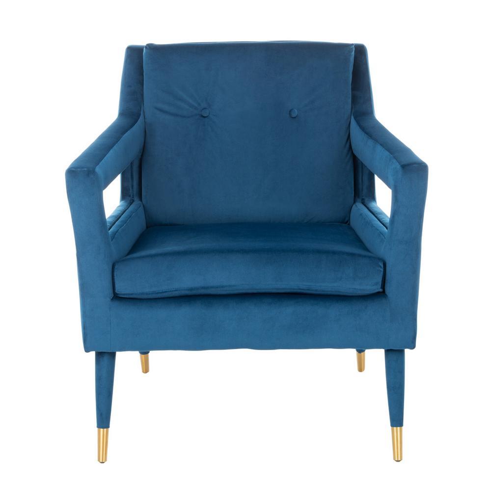 Mara Navy Accent Chair