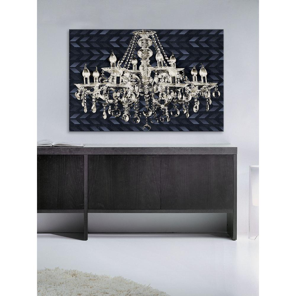 dust art canvas b rubyandb with encrusted diamond and product original ruby by silver chandelier black