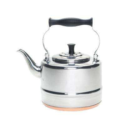 8-Cup Stovetop Tea Kettle in Silver
