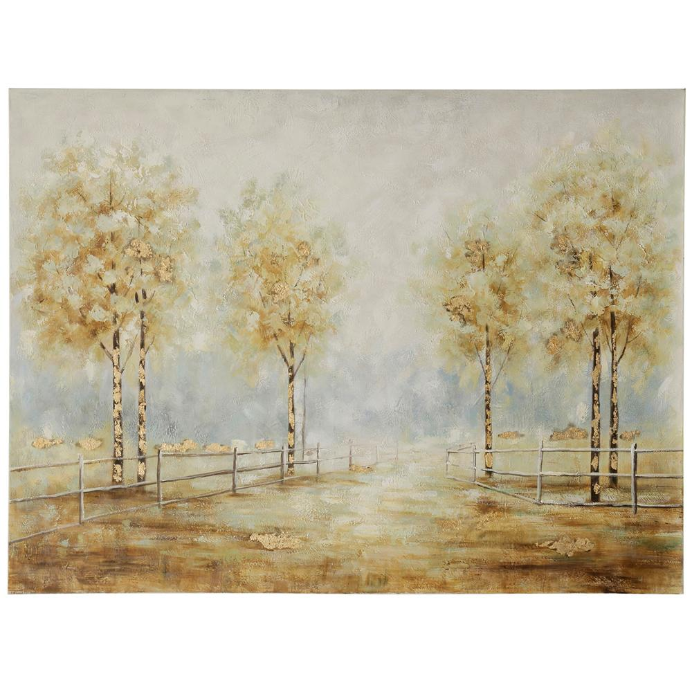 StyleCraft Pathy Way Art Multicolored Wooden Wall Art was $209.99 now $84.72 (60.0% off)