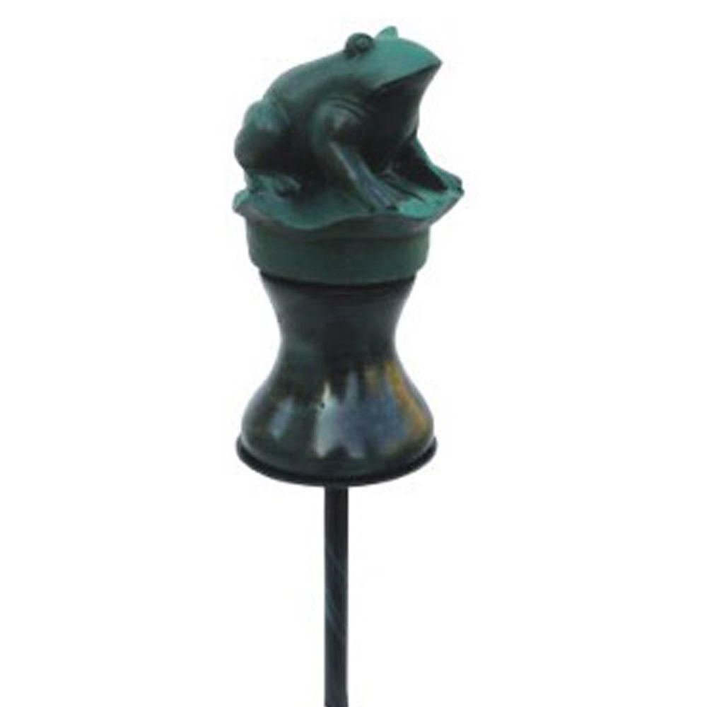 Infiniflo Guide Metal Frog Garden Hose