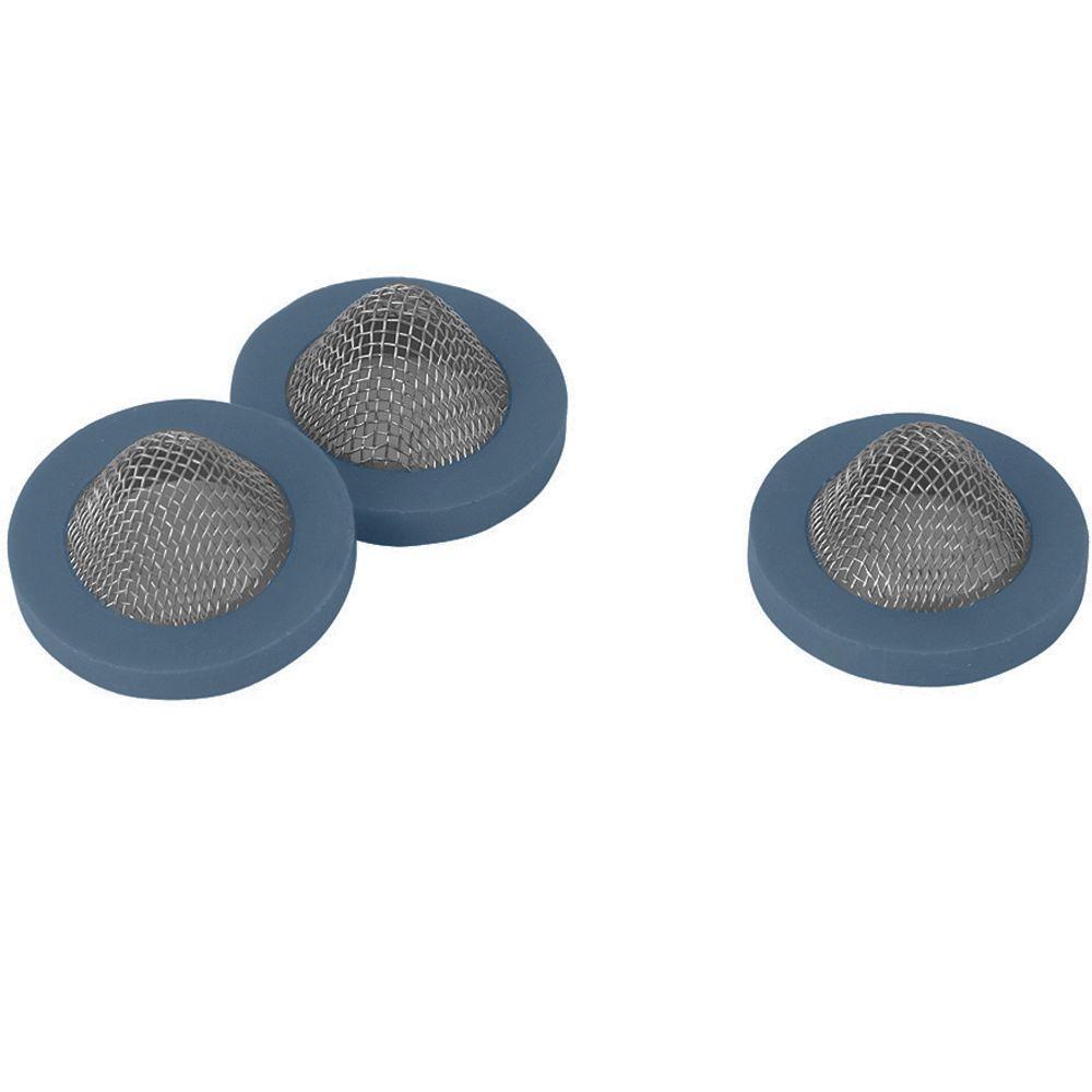 Garden Hose Sprinkler Metal Filter Washers (3-Pack)