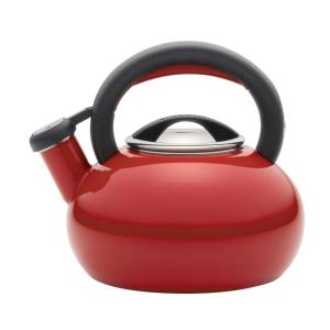 Click here to buy Circulon Teakettle 6-Cup Red Sunrise Teakettle by Circulon.