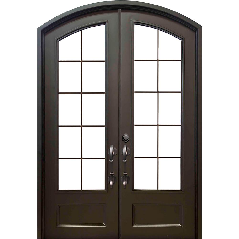 Front Door Accessories: ALLURE IRON DOORS & WINDOWS 74 In. X 97.5 In. Eyebrow Key