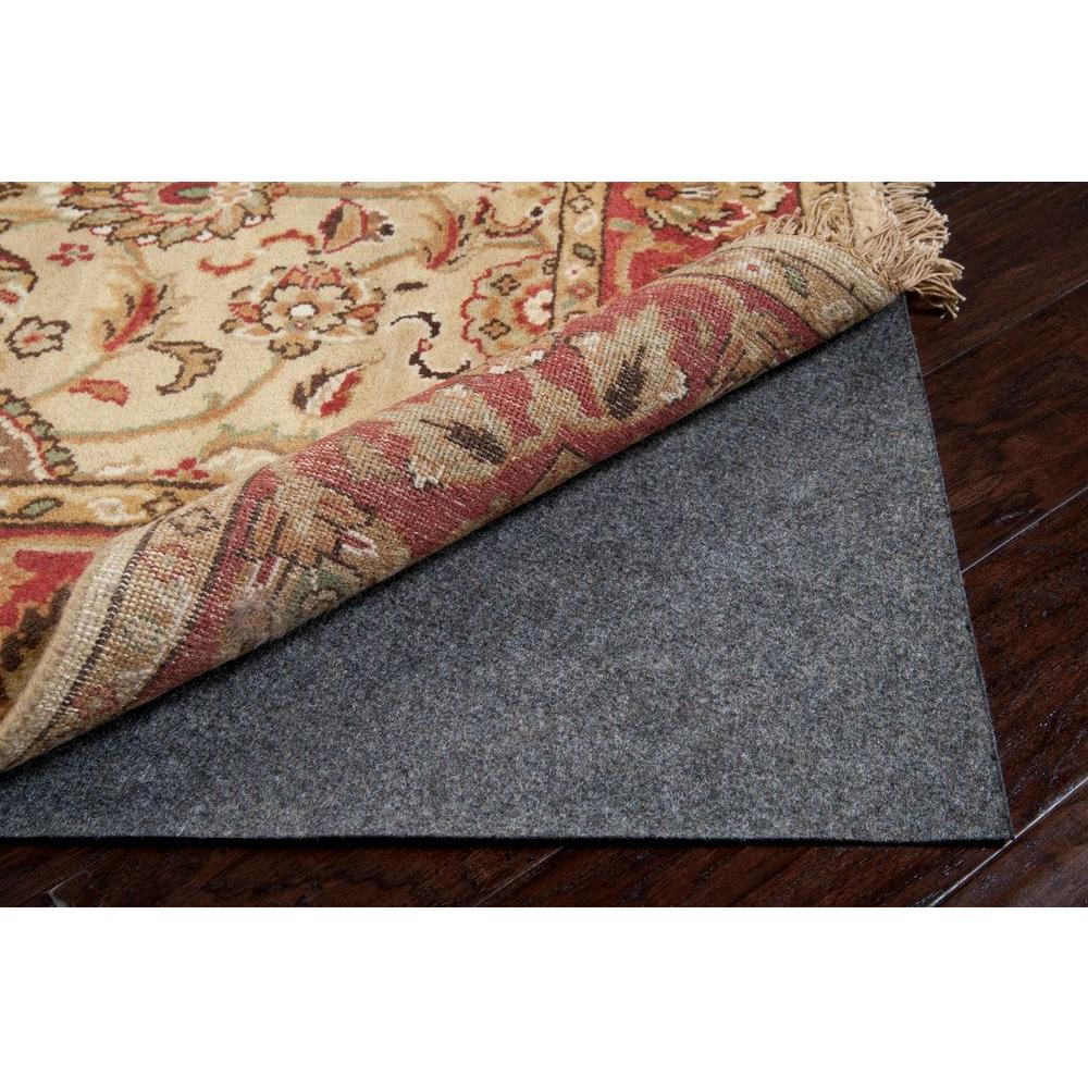 Firm 8 ft. x 10 ft. Oval Rug Pad