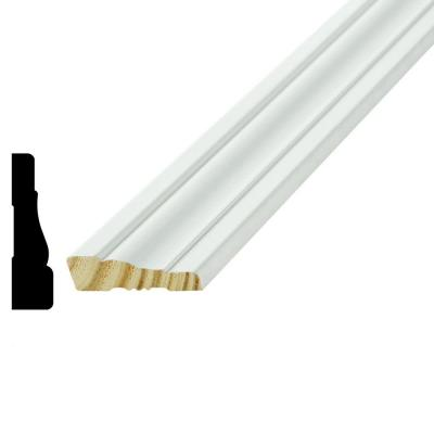 WM 351 11/16 in. x 2-1/2 in. x 96 in. Wood Primed Finger-Jointed Casing Moulding