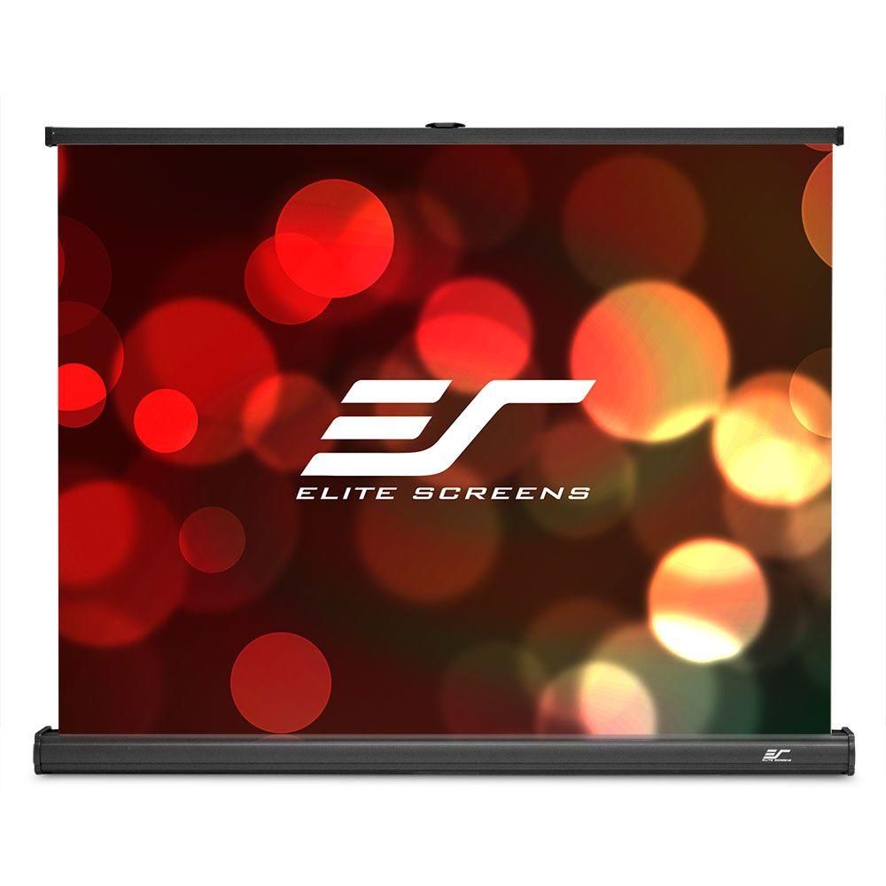 Elite Screens PicoScreen 21 in. H x 28 in. W Manual Table...