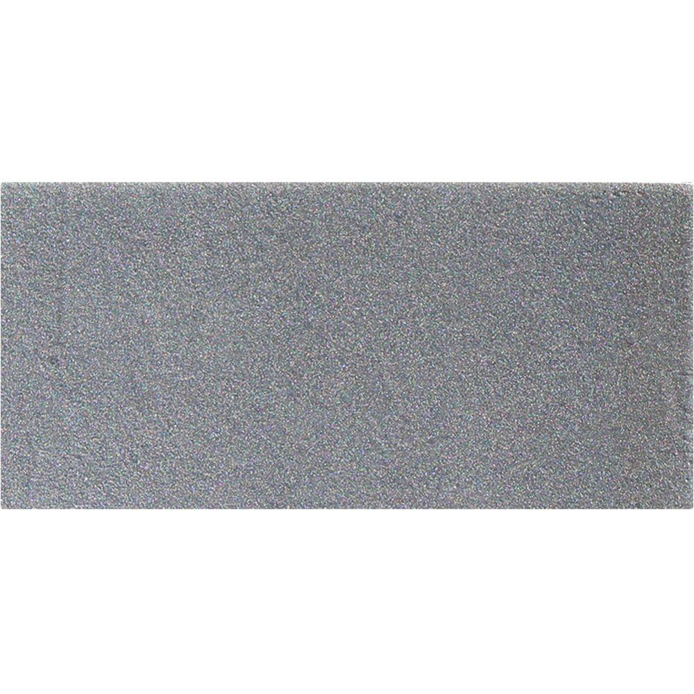 Metallic Gray 3 in. x 6 in. Glass Wall Tile (1