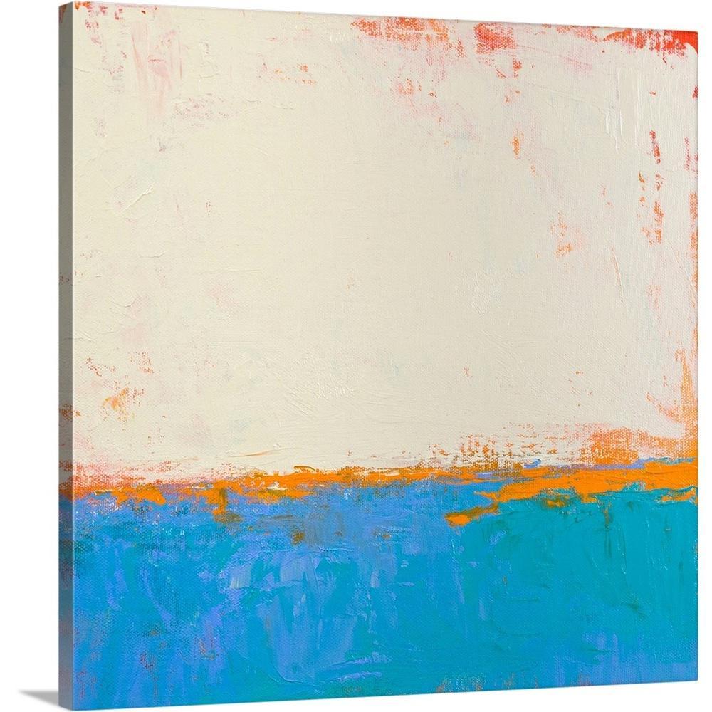 GreatBigCanvas ''Calm Seas'' by Don Bishop Canvas Wall Art 2414621_24_24x24