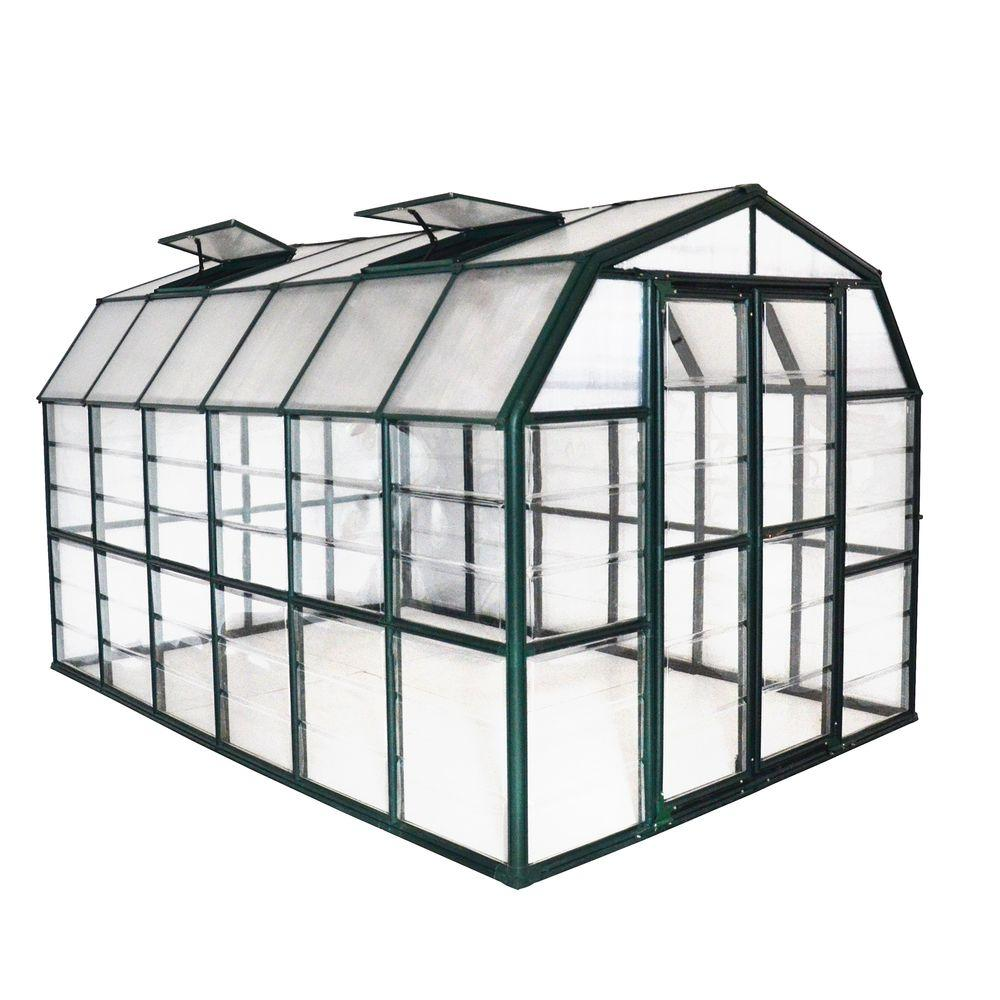 Rion Grand Gardener Clear 8 ft. x 12 ft. Greenhouse
