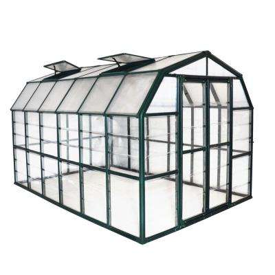 Grand Gardener Clear 8 ft. x 12 ft. Greenhouse