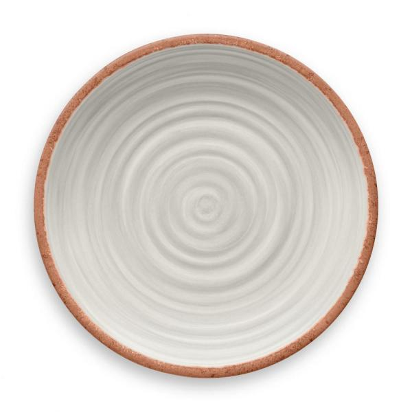 undefined Rustic Swirl Ivory Dinner Plate (Set of 6)