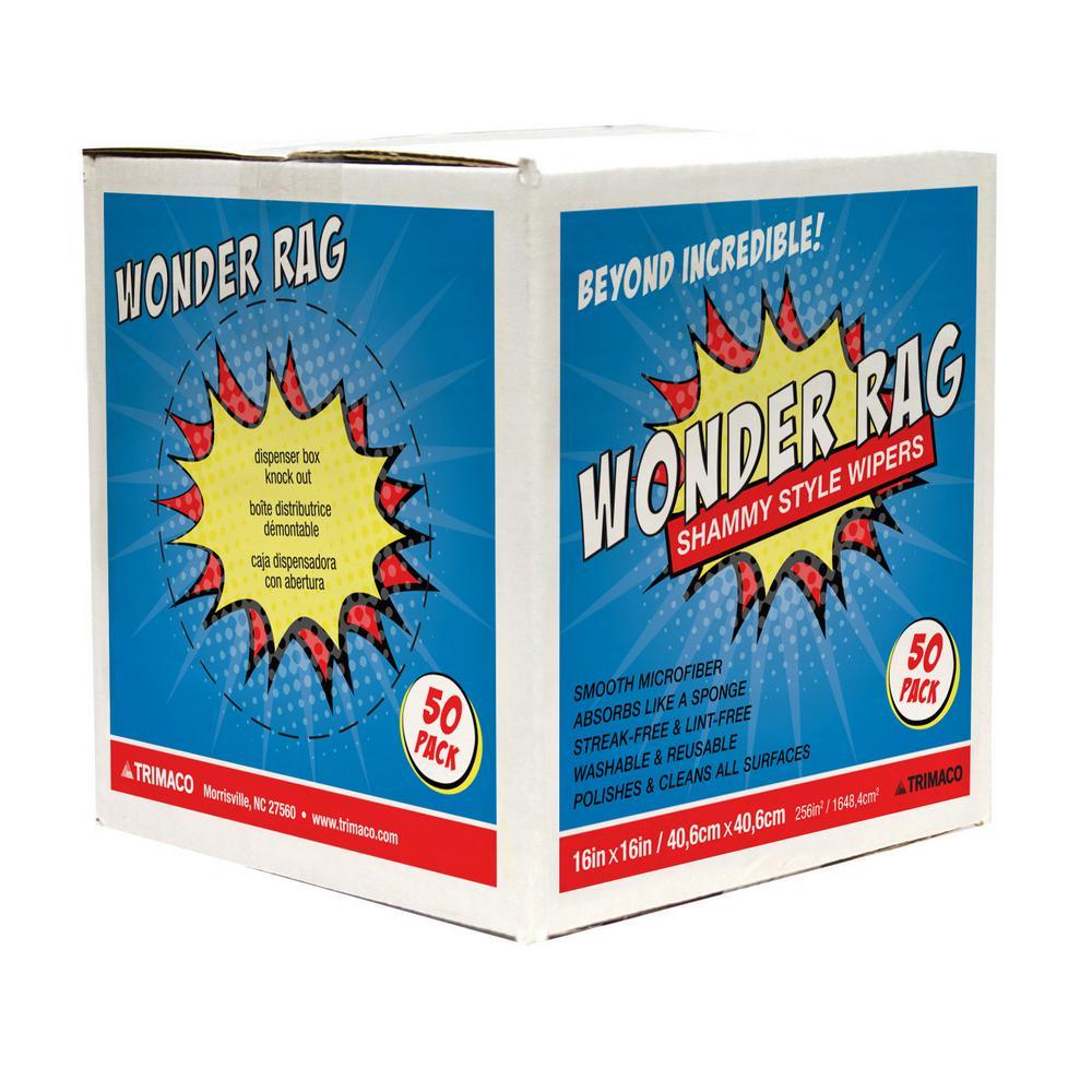 16 in. x 16 in. Wonder Rag Dispenser Box (50-Pack)