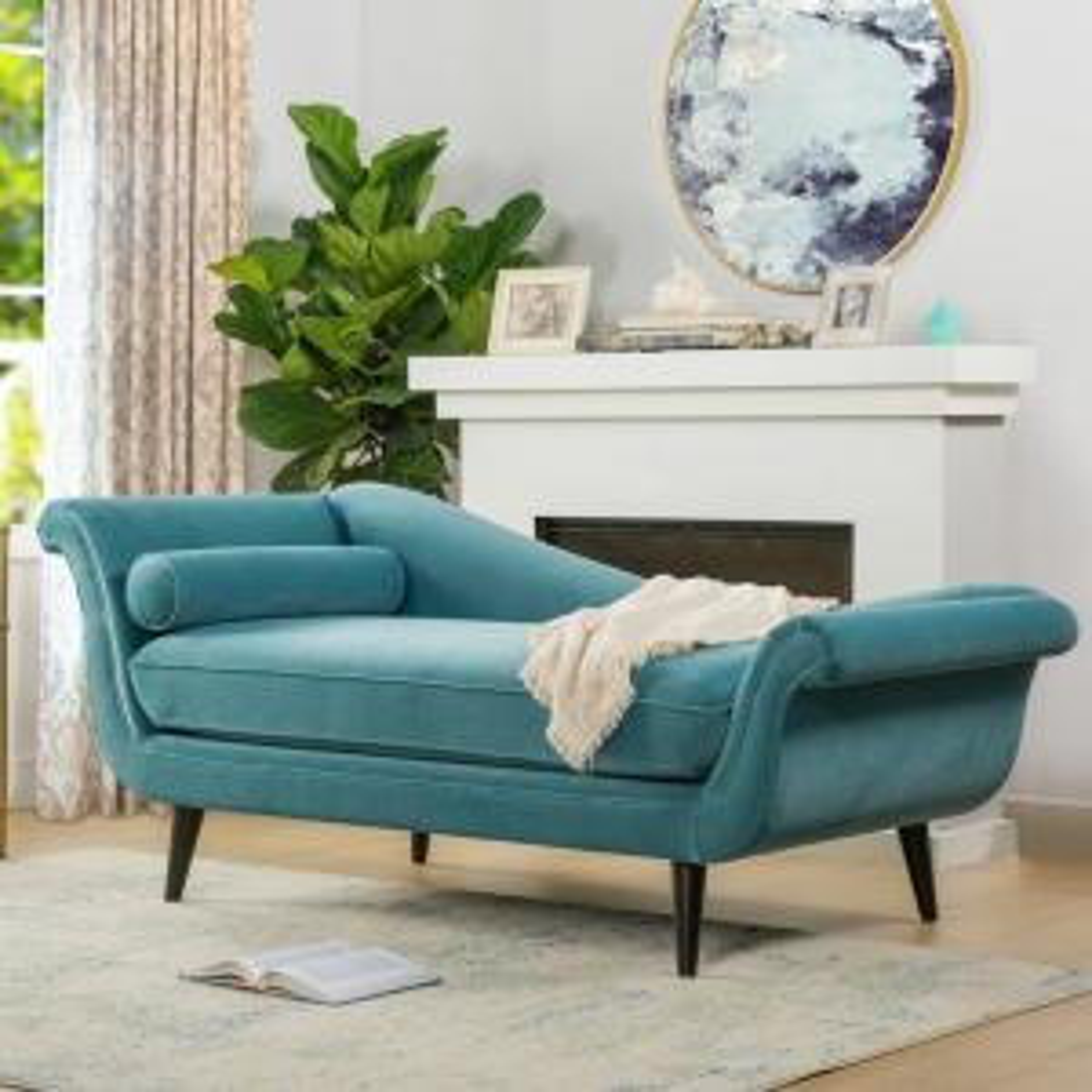Prime Sandy Wilson Arctic Blue Kai Chaise Lounge S62071 R 894 Spiritservingveterans Wood Chair Design Ideas Spiritservingveteransorg