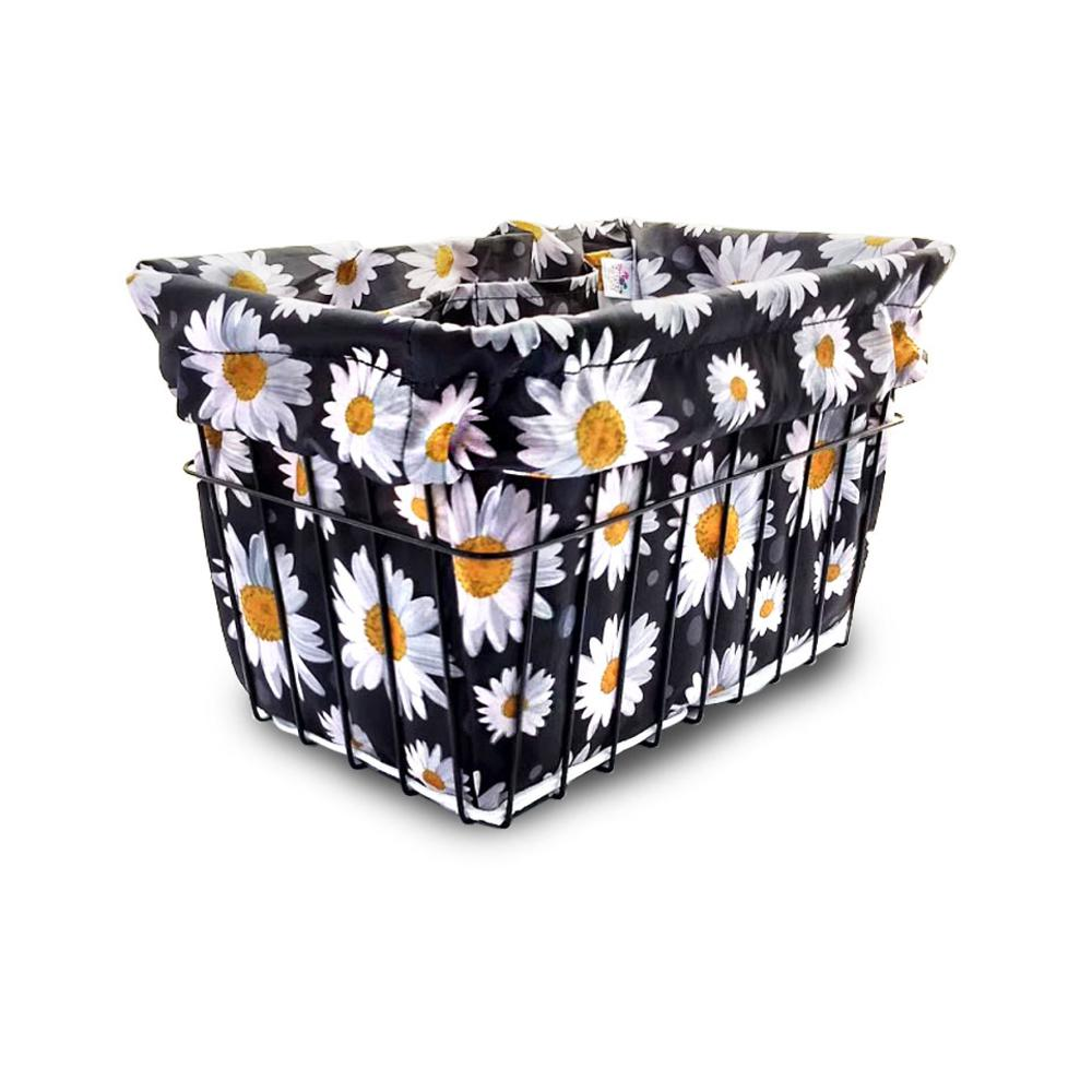 Love Daisy Bicycle Basket Liner