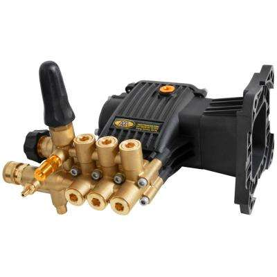 9.4GA13 4,000 psi 3.3 GPM AAA Triplex Plunger Horizontal Pump with Brass Head and Powerboost Technology