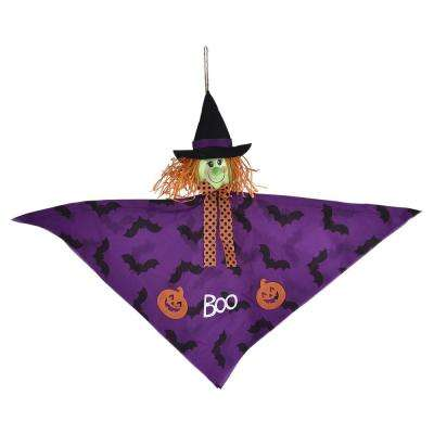 24 in. Halloween Small Witch Hanging Decoration (4-Pack)
