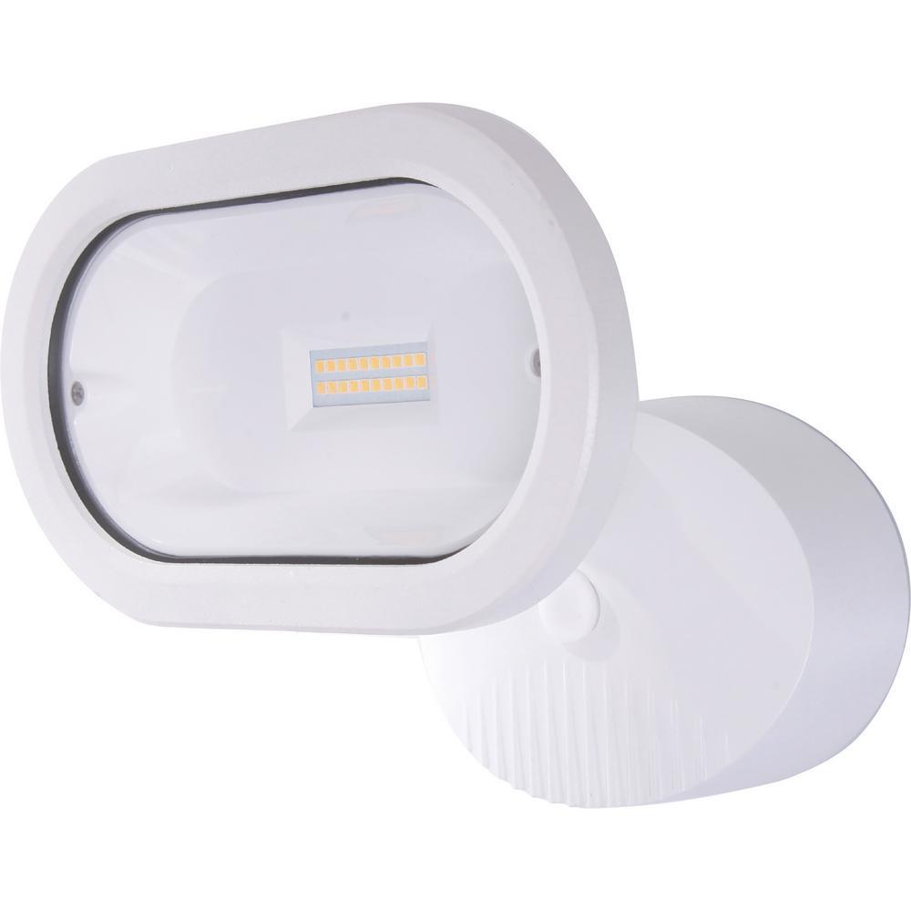 Filament Design White Outdoor Integrated Led Spot Light