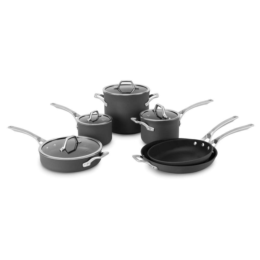 Calphalon Signature 10-Piece Non-Stick Cookware Set by Calphalon