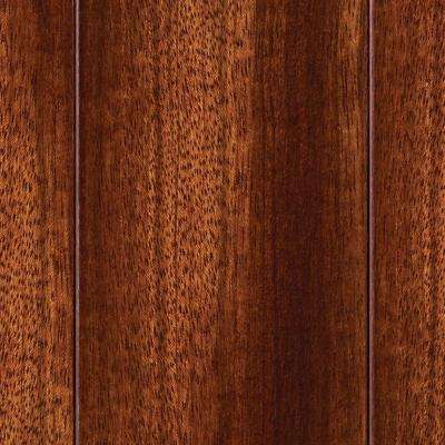 Brazilian Cherry 3/8 in. T x 3-5/8 in. W x Varying Length Click Lock Exotic Hardwood Flooring (23.96 sq. ft. / case)