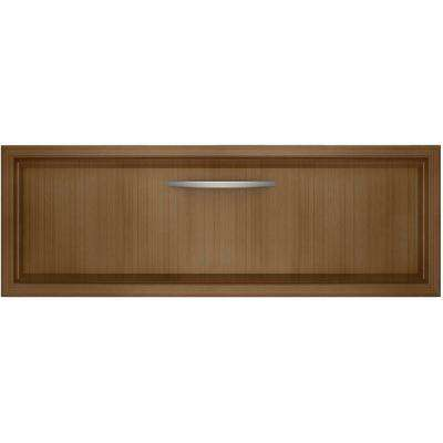 30 in. Warming Drawer in Overlay Panel-Ready