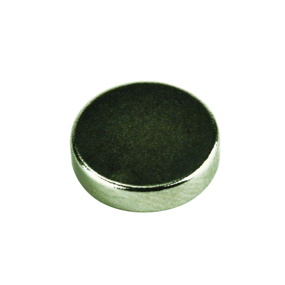 MASTER MAGNETICS 1/2 in. Neodymium Rare-Earth Magnet Discs (6 per Pack)