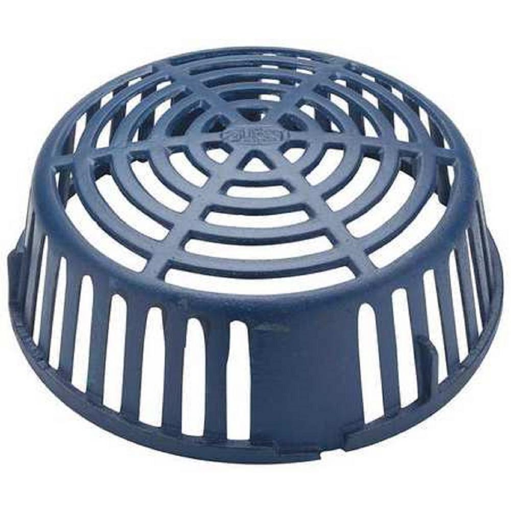 Zurn 10 25 In Roof Drain Dome P100 Dome Ci The Home Depot