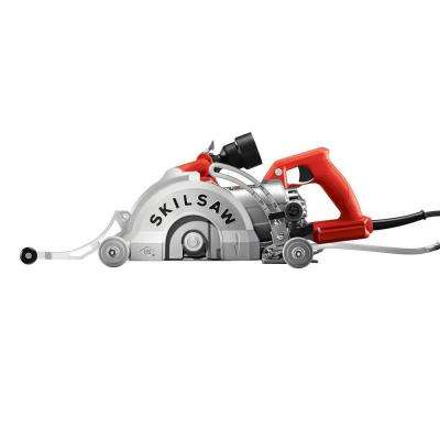 7 in. 15 Amp Corded Medusaw Aluminum Worm Drive Circular Saw for Concrete