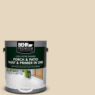 1 gal. #PFC-16 Wool Coat Low-Lustre Interior/Exterior Paint and Primer In One Porch and Patio Floor Paint