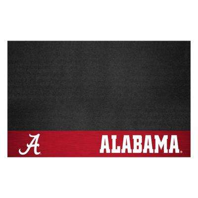 University of Alabama 26 in. x 42 in. Grill Mat