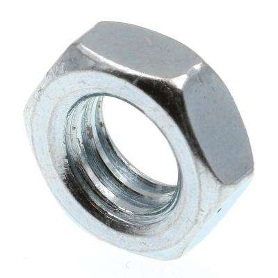 3/8 in.-16 A563 Grade A Zinc Plated Steel Hex Jam Nuts (50-Pack)