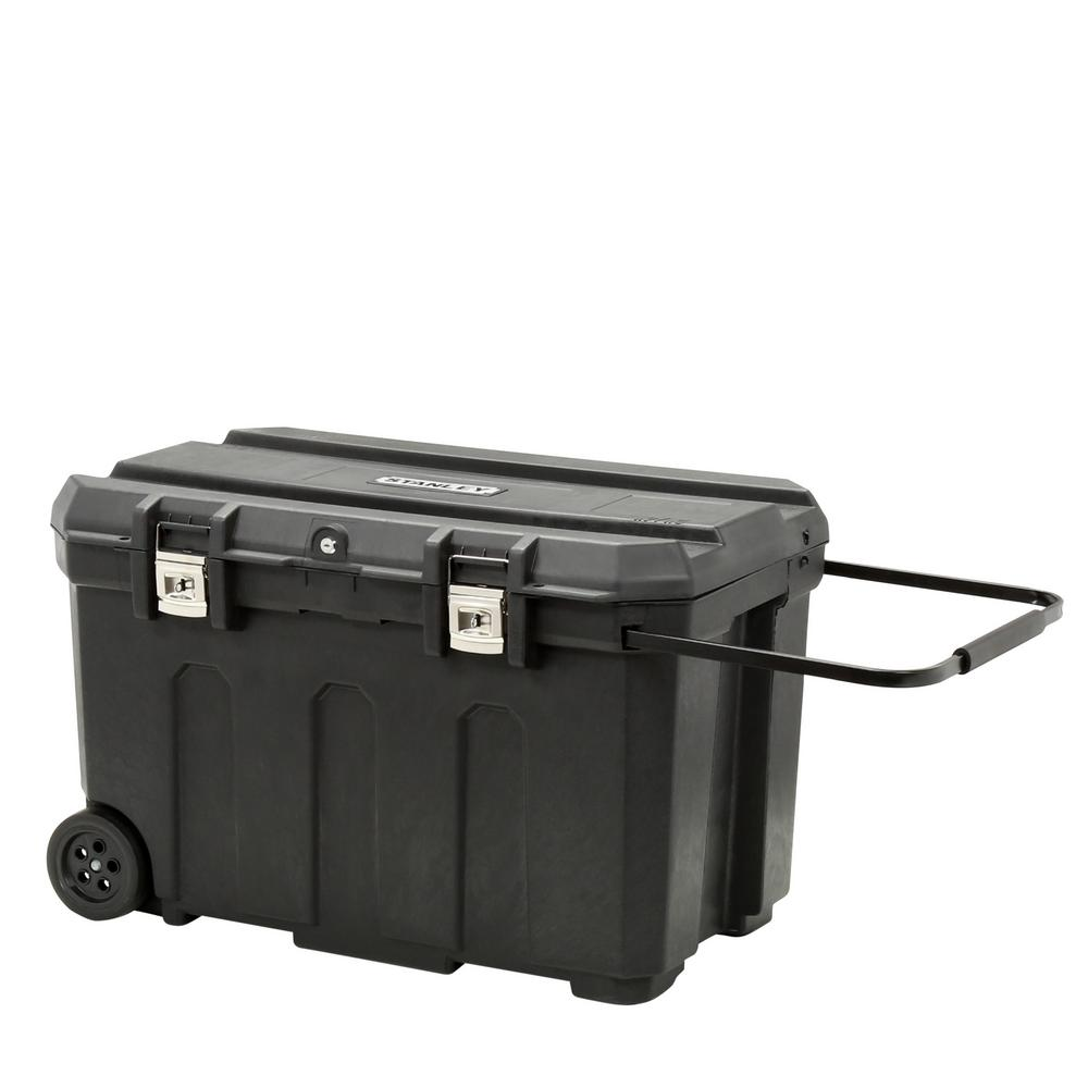 Stanley 23 in. 50 Gallon Mobile Tool Box, Black was $73.97 now $36.99 (50.0% off)