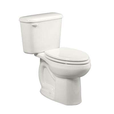 Colony Right Height 10 in. Rough-In 2-piece 1.6 GPF Single Flush Elongated Toilet in White