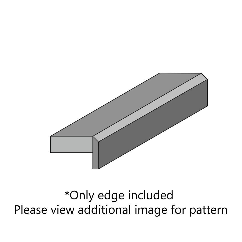 Bainbrook Grey Laminate Custom Bevel Edge