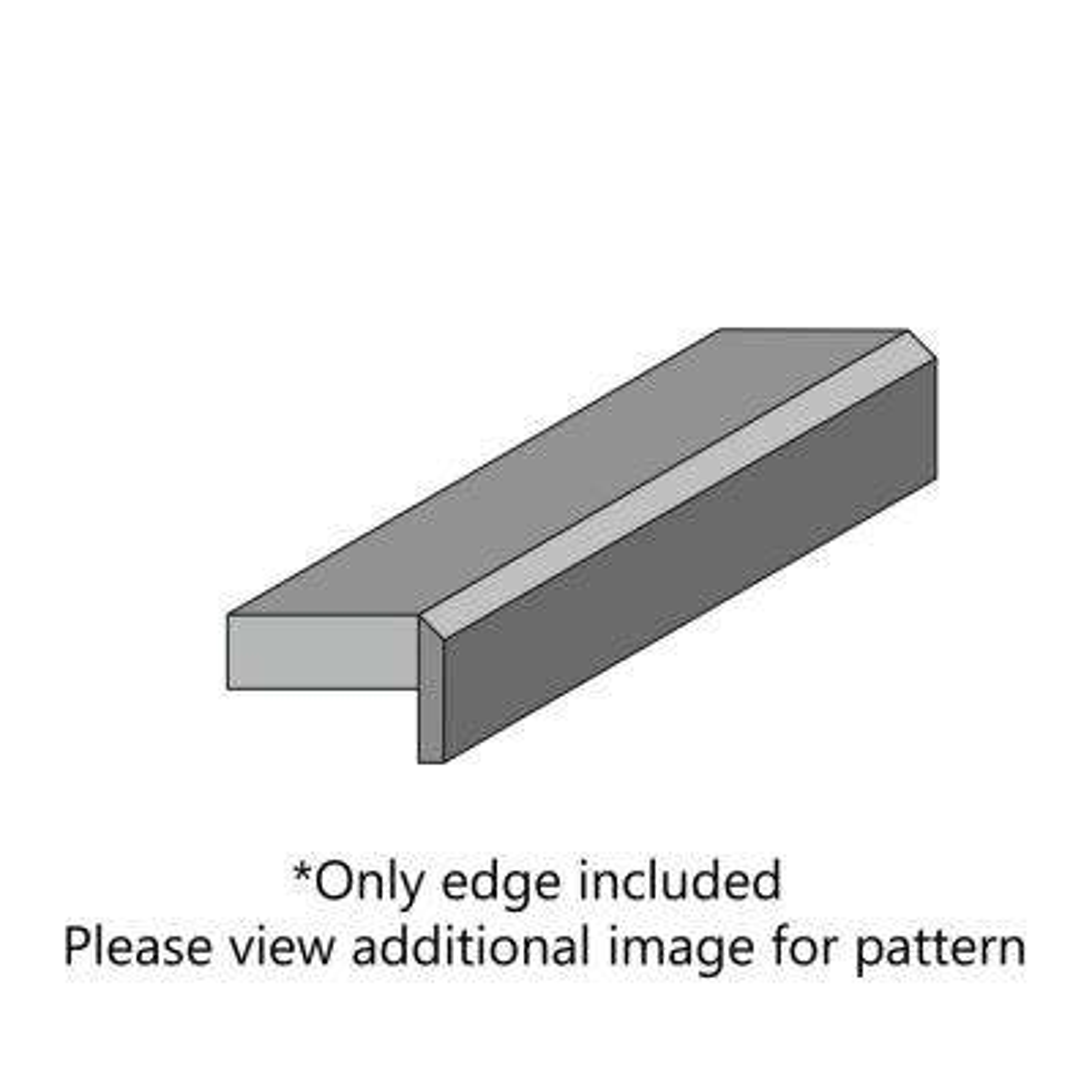 Breccia Laminate Custom Bevel Edge